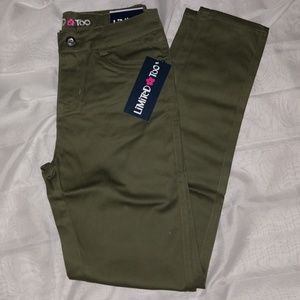 Limited Too Big Girls Stretch Twill Pants